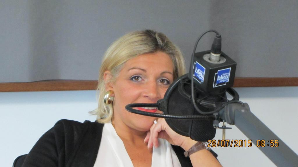Sophie Eymery sur France Bleu Périgord